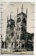 Malaya Negri Sembilan Seremban Postally Used Postcard 4c Orange 1936 St Francis Church - Malaysia