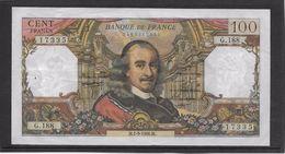 France 100 Francs Corneille - 1-9-1966 - Fayette N°65-14 - TTB - 1962-1997 ''Francs''