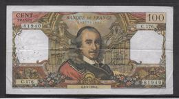 France 100 Francs Corneille - 2-6-1966 - Fayette N°65-13 - TB - 1962-1997 ''Francs''