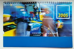 Calendrier Renault F1 Team 2005 - Calendars