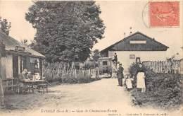77 - SEINE ET MARNE / Everly - 772890 - Gare De Chalmaison Everly - Beau Cliché Animé - France