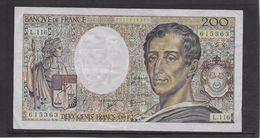 France 200 Francs Montesquieu - 1992 - Fayette N°70-12b - TTB - 1962-1997 ''Francs''