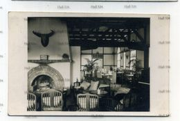 Malaya Cameron Highlands Sitting Room Bintang Hotel Used Tanah Rata 1936 Postcard 4c Pahang Orange - Malaysia
