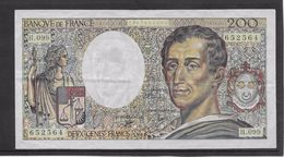 France 200 Francs Montesquieu - 1990 - Fayette N°70-10b - TTB - 1962-1997 ''Francs''