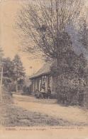 Kemmel - Auberge Sur La Montagne (clients En Terrasse) Circulé Sans Date, Durant La Grande Guerre 14/18 - Heuvelland