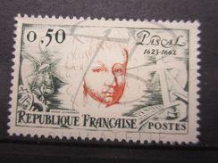 VEND BEAU TIMBRE DE FRANCE N° 1344 , CHEVELURE CLAIRE , XX !!! - Abarten: 1960-69 Ungebraucht
