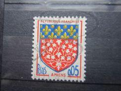 VEND BEAU TIMBRE DE FRANCE N° 1352 , BLEU SURENCRE !!! - Abarten Und Kuriositäten