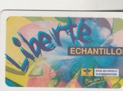 LIBERTE échantillon  Signé - New Caledonia