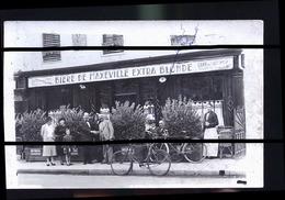 MAXEVILLE BIERE DE PHOTO CARTE           TRAITS ANTI COPIE - Maxeville
