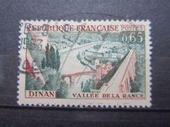 VEND TIMBRE DE FRANCE N° 1315 , HAUT DU PONT BRISE !!! - Variétés: 1960-69 Oblitérés