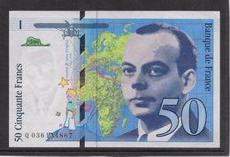 France 50 Francs St Exupéry - 1997 - Fayette N° 73-4 - SPL - 1992-2000 Last Series