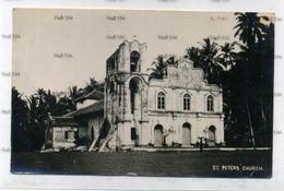 Malaya Seremban Negri Sembilan Postally Used St Peter's Church Postcard 1936 4c Orange Stamp - Malaysia