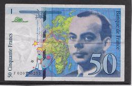 France 50 Francs St Exupéry - 1994 - Fayette N° 73-1d - TB - 1992-2000 Last Series