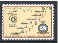 Pakistan 2017 Pak Air Force Rs. 10 MNH - Pakistan