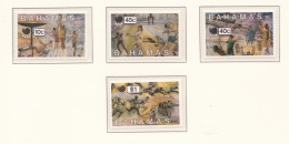 Bahamas 1988 Seoul Olympic Games - Four Stamps MNH/**  (H31-2) - Ete 1988: Séoul