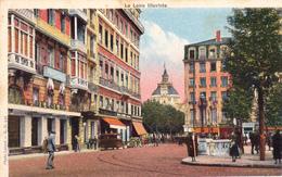 42. SAINT ETIENNE. CPA COLORISÉE. PLACE DORIAN - Saint Etienne