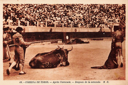(33) Bordeaux - Les Courses De Taureaux 1929 - Après L'estocade - Matador Toreador Corrida De Toros - Bordeaux