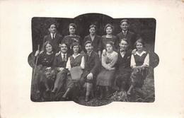 Groupe De Jeunes Randonneurs - Supposé Savoie Ou Suisse Circa 1920 - Sport - Cartes Postales
