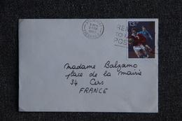 Lettre De GRANDE BRETAGNE à FRANCE - Covers & Documents