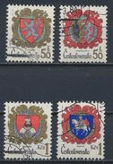 °°° CESKOSLOVENSKO CZECHOSLOVAKIA - Y&T N°2573/76 - 1984 °°° - Used Stamps