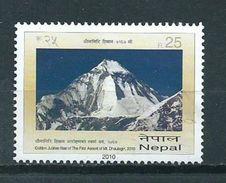 2010 Nepal Dhaulagiri Used/gebruikt/oblitere - Nepal