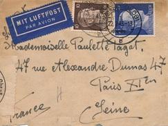 Lettre Varel Oldenburg Double Censure WWII - Allemagne