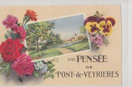 Une Pensée De Pont De Veyriéres - France