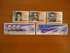Russie N° 2862 à 2866  Obl, Série Complète - 1923-1991 UdSSR