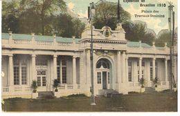 Bruxelles - CPA - Exposition De Bruxelles 1910 - Palais Des Travaux Féminins - Santé, Hôpitaux