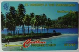 ST VINCENT & THE GRENADINES - GPT - 13CSVC - $40 - Indian Bay - STV-13C - Used - St. Vincent & The Grenadines