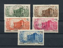 !!! PRIX FIXE : CAMEROUN, SERIE BASTILLE N°192/196 OBLITERATIONS SUPERBES - Kamerun (1915-1959)