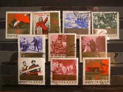 Russie N° 2943 à 2952 Obl, Série Complète - 1923-1991 URSS