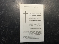 17Z - Ordination Sacerdotale Richard Bodson Soye 1945 - Announcements