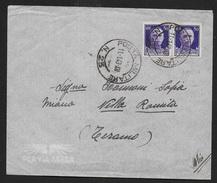 POSTA MILITARE - BUSTA PER VIA AEREA DA PM 23 (ATENE - GRECIA)11.01.1943 (p.1) PER TERAMO - 1900-44 Vittorio Emanuele III