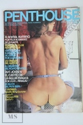 Vintage 1979 Men's Magazine - Penthouse Spanish Edition Nº 18 - Nude Poster Inside. - Revistas & Periódicos