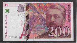 France 200 Francs Eiffel - 1996 - Fayette N° 75-3a - SPL - 1992-2000 Ultima Gama