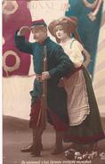"""90. BELFORT.  CARTE PATRIOTIQUE   """" Ils Viennent......Pour Conserver L' Alsace Et Défendre Belfort """". 30 Mai 1915 - Patriotiques"""