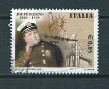 2010 Italy G.Petrosino Used/gebruikt/oblitere - 6. 1946-.. Republic