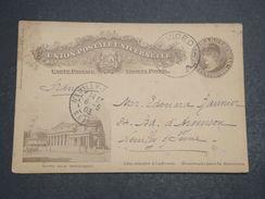 URUGUAY - Entier Postal Illustré De Montevideo Pour La France En 1903 - L 10271 - Uruguay