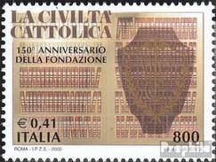 Italien 2689 (completa Edizione) MNH 2000 ZeitschriftLa Civilta Cattolica - 6. 1946-.. Republic