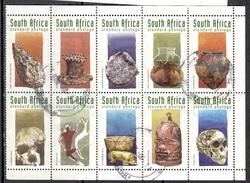 RSA+ Südafrika 1998 Mi 1130-39 Archäologie - South Africa (1961-...)