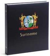 DAVO 1142 Luxe Binder Stamp Album Surinam II - Groß, Grund Schwarz