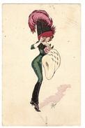 Illustrateur Plum - FEMME - CHAPEAU - MODE - WOMAN - HAT - FASHION - Femmes