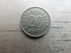 Estonie    20  Senti  1996  Km 23 - Estonie