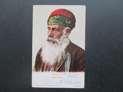 AK Tracht. Souvenir De Vieux Kurde. Editeur Max Fruchtermann, Constantinople. Phot. Berggren. Türkei 1906 - Asie
