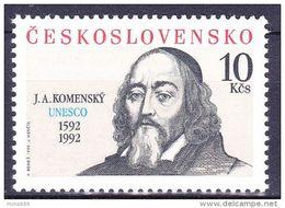 ** Tchécoslovaquie 1992 Mi 3110 (Yv Timbre De BF 89), (MNH) - Tschechoslowakei/CSSR