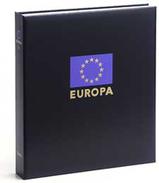 DAVO 13341 Luxe Binder Stamp Album Europe VI - Groß, Grund Schwarz