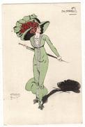 Illustrateur CARLOS BADY - LES ENTRAVÉES - FEMME - CHAPEAU - MODE - WOMAN - HAT - FASHION - Femmes
