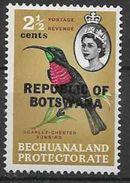 1966 BOTSWANA 155** Oiseau, Issu De Série - Botswana (1966-...)