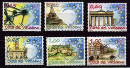 Lot 279 - B 19 - Vatican** N° 1438 à 1443 - Cinquant. Du Traité De Rome - Année 2007 - Europa-CEPT